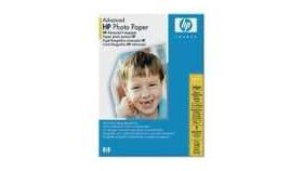 HP Advanced Glossy Photo Paper 250 g/m, 13 x 18 cm borderless/25 sht