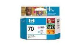 HP 70 Light Cyan and Light Magenta Printhead