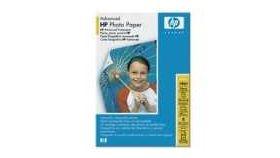 HP Advanced Glossy Photo Paper 250 g/mІ-10 x 15 cm borderless/60 sht