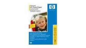 HP Advanced Glossy Photo Paper 250 g/mІ-A4/210 x 297 mm/50 sht