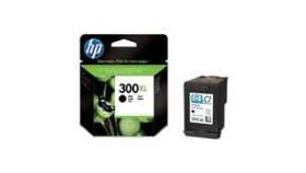HP 300XL Black Ink Cartridge with Vivera Ink, 12ml, HP Deskjet D2560