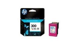 HP 300 Tri-colour Ink Cartridge with Vivera Inks, 4ml, HP Deskjet D2560