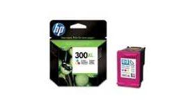 HP 300XL Tri-colour Ink Cartridge with Vivera Inks, 11ml, HP Deskjet D2560