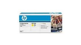 HP Color LaserJet CE742A Yellow Print Cartridge