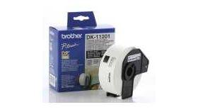 Brother DK-11201 Roll Standard Address Labels, 29mmx90mm, 400 labels per roll, Black on White