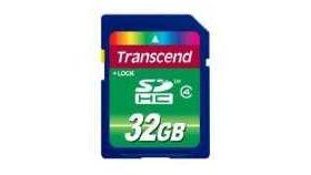 Transcend 32G SDHC (Class 4)