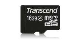 Transcend 16GB microSDHC (No Box & Adapter - Class 4)