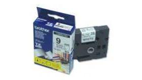 Brother TZe-221 Tape Black on White Laminated 9mm - Eco