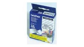 Brother TZe-135 Tape White on Clear, Laminated, 12mm, 8m - Eco