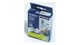 Brother TZe-223 Tape Blue on White, Laminated, 9mm, 8m - Eco
