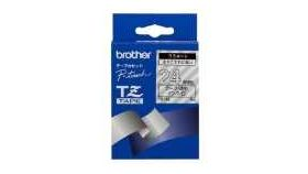 Brother TZe-252 Tape Red on White, Laminated, 24mm, 8 m - Eco
