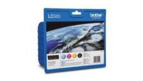 Brother LC-985 BK/C/M/Y VALUE BP Ink Cartridge Set for DCP-J125/J315/J515, MFC-J220/J265/J415 series