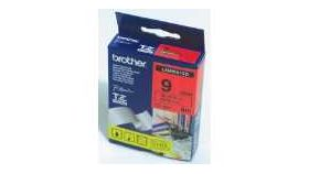Brother TZe-421 Tape Black on Red, Laminated, 9mm, 8m - Eco
