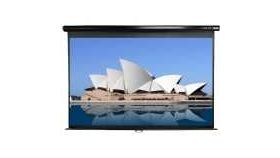 "Elite Screen M120XWH2 Manual, 120"" (16:9), 149.4 x 265.7 cm, White"