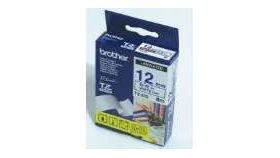 Brother TZe-233 Tape Blue on White, Laminated, 12mm, 8m - Eco