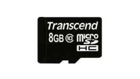 Transcend 8GB micro SDHC (No Box & Adapter - Class 10)
