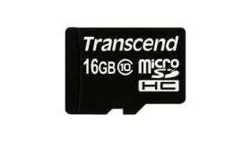 Transcend 16GB micro SDHC (No Box & Adapter - Class 10)