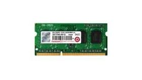 Transcend 8GB 204pin SODIMM DDR3L PC1600 CL11, Low Voltage (1.35V)