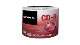 Sony CDR 48x 50pcs bulk