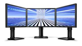 "BenQ BL2411PT, 24"" Wide IPS LED, 5ms, 1000:1, 20M:1 DCR, 300 cd/m2, 1920x1200 FullHD, 100% sRGB, VGA, DVI, DP, Speakers, Height Adjustment, Swivel, Pivot, Black"