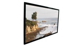 "Elite Screen ER110WH1 Sable Frame Series, 110"" (16:9), 243.8 x 137.2 cm"