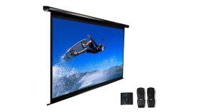 """Elite Screen VMAX99XWS2 Electric, 99"""" (1:1), 177.8 x 177.8 cm, White"""