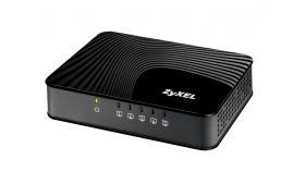 "ZyXEL GS-105Sv2 5-port 10/100/1000Mbps Gigabit Ethernet switch, 3 QoS ports (1port ""High"", 2ports ""Middle""), 802.3az (Green), desktop, plastic housing"