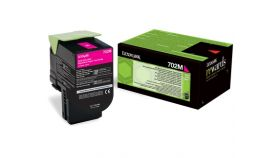Lexmark 702M Magenta Return Program Toner Cartridge