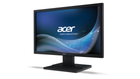 "Monitor Acer V226HQLbd, LED, 21.5"" (55 cm), Format: 16:9, Resolution: Full HD (1920х1080), Response time: 5 ms, Contrast: 100M:1, Brightness: 250 cd/m2, Viewing Angle: 170°/160°, VGA, DVI, Black Acer EcoDisplay, 3 years warranty"
