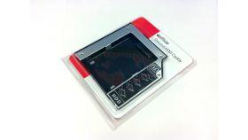 Estillo конвертор DVD към SATA 2nd HDD bay 9.5mm( дава възможност за вкл. на втори твърд диск в лаптоп/ултрабук на мястото на оптичното устройство)