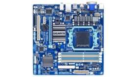 Дънна платка GIGABYTE 78LMT-USB3, AM3, AMD760G,2x DDR3 ,int.video+PCI-ex,2xPCI,mATX rev 4.1