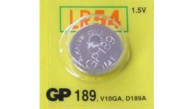 Бутонна алкална батерия GP189 LR-1130/ 10 бр./pack  цена за 1 бр./ 1.55V  GP