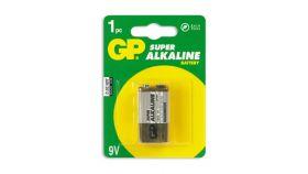 Алкална батерия 6LF22 /6LR61/  /9V/ 1 бр.  GP 1604U/1604AU