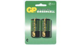 Цинк карбонова батерия R14 /2 бр. в опаковка/ shrink 1.5V GP