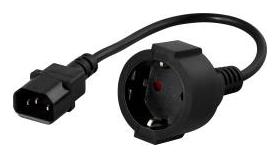 Powerwalker Кабел IEC към шуко