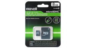 Карта памет 16GB MAXELL  SD Micro с преходник CL10