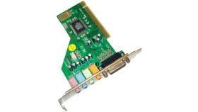 Estillo звукова карта вътрешна C-Media 8738 4 канална PCI