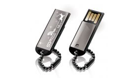 Silicon Power Touch 830 Silver 16GB USB 2.0 флаш памет