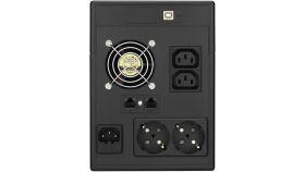 Аварийно захранванe UPS PowerWalker VI 2000 LCDVA Line Interactive, 4 x шоко