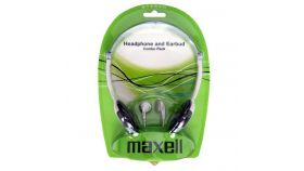 Слушалки COMBO  MAXELL HPC-2 стерео слушалки с малки наушници+ Тапи