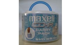 CD-R80 50 pk cake box wrapped MAXELL 52 speed